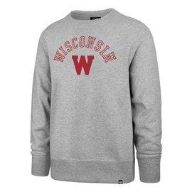 '47 Brand Wisconsin Badgers Men's Campus Life Headline Crew Sweatshirt
