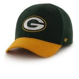 '47 Brand Green Bay Packers Short Stack Infant Hat