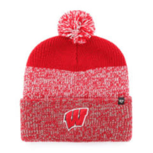 '47 Brand Wisconsin Badgers Static Cuffed Knit Hat