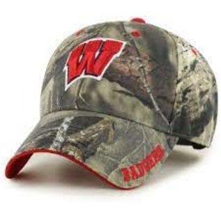 '47 Brand Wisconsin Badgers '47 Realtree Frost MVP Adjustable Hat