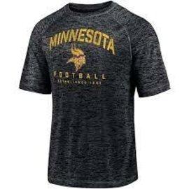 Fanatics Minnesota Vikings Men's Shade Striated Poly Battle Ready Short Sleeve Tee