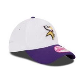 New Era Minnesota Vikings 39-30 White with purple bill