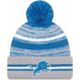 New Era Detroit Lions 2021 Onfield Sport Knit Hat