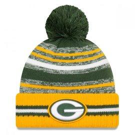 New Era Green Bay Packers 2021 Onfield Sport Knit Hat