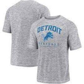 Fanatics Detroit Lions Men's Shade Striated Poly Battle Ready Short Sleeve Tee