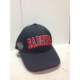 Wisconsin Badgers Fresh Charcoal Grey Adjustable Hat