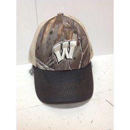 Wisconsin Badgers Logger Two Tone Adjustable Hat