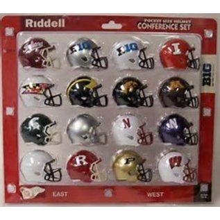 Riddell, Inc Big 10 Pocket Pro  Helmet Set