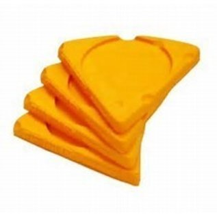 Foamation Cheese Wedge Coaster