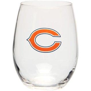 Boelter Brands LLC Chicago Bears 16 oz Curved Beverage Glass