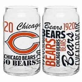 Chicago Bears 16oz Spirit Glass Can