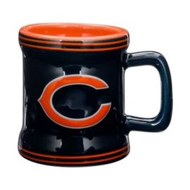 Boelter Brands LLC Chicago Bears 2oz Sculpted Mini Mug Shot Glass