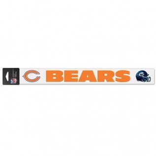 WinCraft, Inc. Chicago Bears 2x17 Perfect Cut Decal
