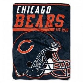 Northwest Chicago Bears 46x60 Micro Raschel Throw