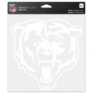 WinCraft, Inc. Chicago Bears 8x8 White Perfect Cut Decal