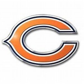Chicago Bears Colored Auto Emblem