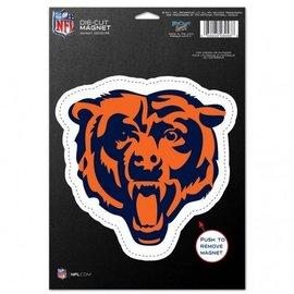 Chicago Bears Diecut Magnet - Bear Head