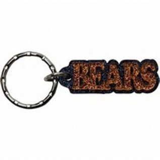 Chicago Bears Glitter Bears Key Chain