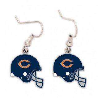 WinCraft, Inc. Chicago Bears Helmet Dangle Earrings