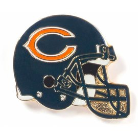 Aminco Chicago Bears Silver Helmet Pin
