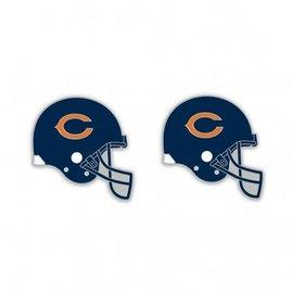 Chicago Bears Helmet post earrings