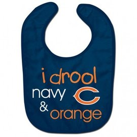 WinCraft, Inc. Chicago Bears I Drool Baby Bib