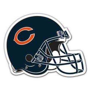 """Fremont Die Chicago Bears 12"""" Helmet Car Magnet"""