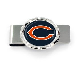 Chicago Bears Diamond Cut Money Clip