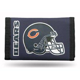 Chicago Bears Nylon Trifold Wallet