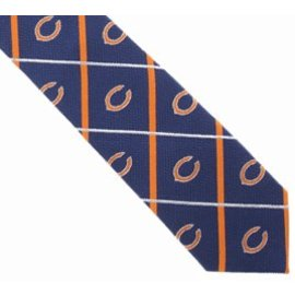 Eagles Wings Chicago Bears Silver Line Tie
