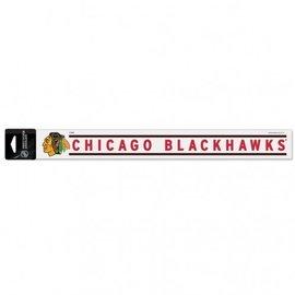 WinCraft, Inc. Chicago Blackhawks 2x17 Perfect Cut Decal