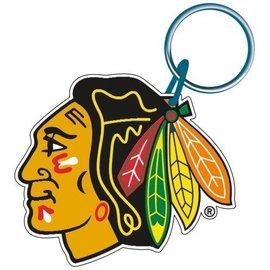 Chicago Blackhawks Acrylic Indian Head Keychain