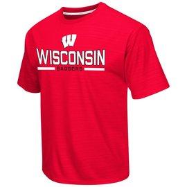 Wisconsin Badgers In The Vault Poly Short Sleeve Tee