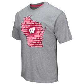 Wisconsin Badgers Men's Yada Yada Yada Short Sleeve Tee
