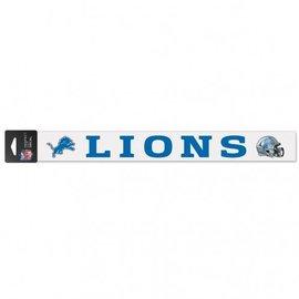 Detroit Lions 2x17 Perfect Cut Decal