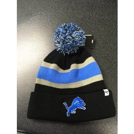 Detroit Lions Black Cuff knit