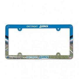 WinCraft, Inc. Detroit Lions Full Color Plastic License Plate Frame