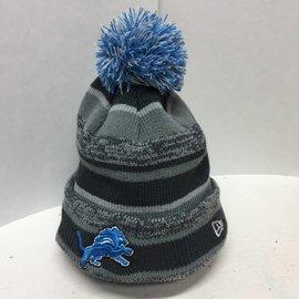 Detroit Lions Gray Sport knit hat