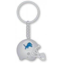 Detroit Lions Silver Helmet Keychain