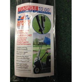 Golf Cart Flag Pole
