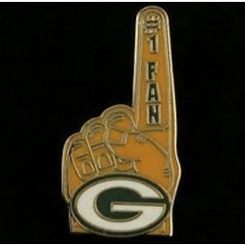 Aminco Green Bay Packers #1 Hand Pin