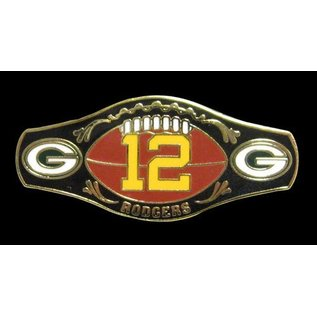 Green Bay Packers #12 Champ Belt Pin