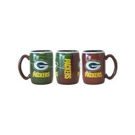 Green Bay Packers 15oz Sculpted Field Coffee Mug
