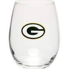 Green Bay Packers 16 oz Curved Beverage Glass