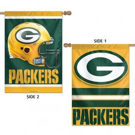 WinCraft, Inc. Green Bay Packers 2 Sided Banner Flag