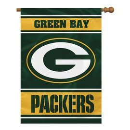 Green Bay Packers 28x40 2-Sided House Flag
