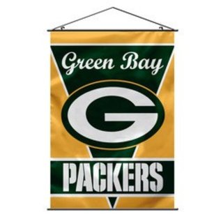 Fremont Die Green Bay Packers 28x40 Vertical Wall Banner