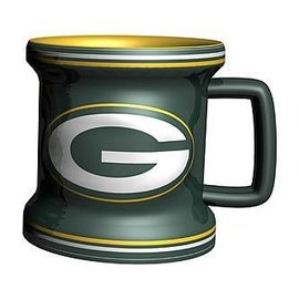 Boelter Brands LLC Green Bay Packers 2oz Sculpted Mini Mug Shot Glass