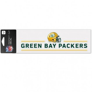WinCraft, Inc. Green Bay Packers 3x10 Perfect Cut Decal