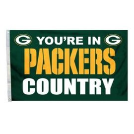 Fremont Die Green Bay Packers 3x5 flag - Packers Country
